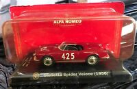 "DIE CAST "" GIULIETTA SPIDER VELOCE (1956) "" ALFA COLLECTION  SCALA 1/43"