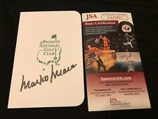 MARK O'MEARA SIGNED MASTERS TOURNAMENT SCORECARD AUTOGRAPH JSA COA