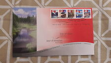 2006 CANADA- Canadian Flag- FDC STAMPS