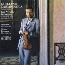 CARMIGNOLA/VENICE BAROQUE ORCHESTRA - VIVALDI: LATE VIOLIN CONCERTOS  CD NEU