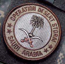 OPERATION DESERT STORM '91 PALM TREE OF SAUDI ARABIA νeΙ©®⚙ DD INSIGNIA