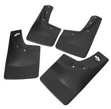 New Mud Flaps Splash Guards 2014-2017 Silverado Front & Rear 4pcs Black