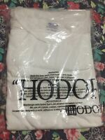"""""""HODOR""""- Game Of Thrones Men's Fan White T-shirt, Size 3XL 100% Cotton , New"""