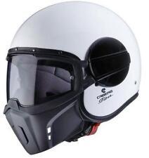 Cascos lisos Caberg color principal blanco para conductores