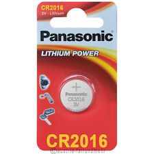 """""""2x Panasonic CR2016 Lithium POWER Batterie Knopfzelle 3V Blister"""
