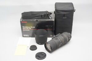 Sigma Zoom 150-500mm f/5-6.3 APO DG OS HSM Lens, For Canon EF Mount