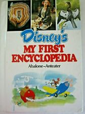 Disney'S My First Encyclopedia Volume 1 Abalone Anteater Hardcover Book