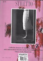 Stiletto Magazine Catherine Deneuve Guillaume Gallienne Adel Abdessemed Tokyo .