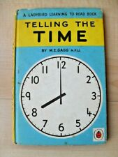 Telling the Time - Ladybird Learning to Read Book  - By M.E Gagg Series 563