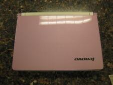 "10.1"" Lenovo Ideapad S10 Pink laptop Atom N270 1.60Ghz  2GB WiFi WEBCAM  #I12"