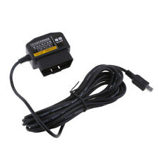 Mini USB Right Bend Cables Free Shipping Car Lighter Adapter for GPS DVR Charging 8-36V to 5V/2A MagiDeal 3.5 Meters