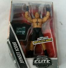 Brock Lesnar Elite Collection WWE Figure w Gamestop Exclusive New w Box Damage