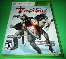 The First Templar Xbox 360 Factory Sealed!!  Free Shipping!!