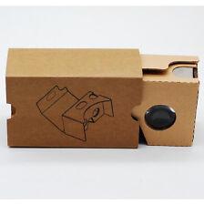 Smart Phone Google Cardboard 3D Vr Virtual Reality Glasses Head Mount DIY Box