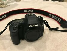 Canon EOS 80D 24.2 MP Digital SLR Camera - Black (Body Only) 24.2MP