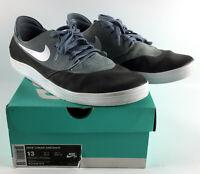 Nike SB Lunar Oneshot Magnet Grey/White/Black - 631044-010 Size 13 - w/Box