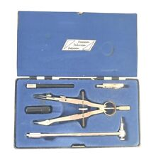 KAUFMANN Universal Giant Bow Compass Technical Drawing Instrument Set Germany