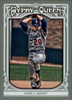 2013 Topps Gypsy Queen Baseball #170 Don Sutton Los Angeles Dodgers