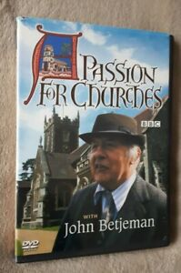 A PASSION FOR CHURCHES with John Betjeman. BBC. uk region 2 DVD