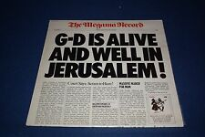 GOD IS ALIVE AND WELL IN JERUSALEM ALBUM CBS Excellent Vol II, # 1