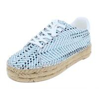 Marc Fisher Womens Mandi 3 Jute Leather Trim Espadrilles Sneakers BHFO 8845