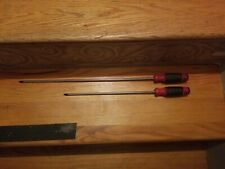 "Two brand new Mac tools philips screwdrivers a 12"" and an 18"" MADE IN USA"