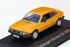 VW Scirocco 1 GLi - Modell Bj. 1977-1981, M. 1:43, ockergelb