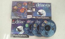 Atlantis The Lost Tales Sony PlayStation 1 PS1 Like New PAL Version