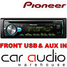 Pioneer DEH-S5000BT CD MP3 USB Aux iPod Bluetooth Android 50x4 Car Stereo Player