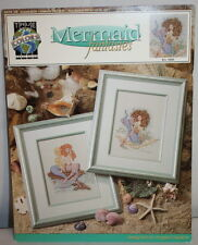 Mermaid Fantasies Counted Cross Stitch True Colors Pattern Leaflet Bcl-10025
