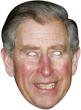 Adults Prince Charles Royal Family Wedding Brit Fancy Dress Costume Outfit Mask
