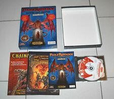 Gioco Pc D&D POOL OF RADIANCE Forgotten Realms NUOVO ITA 2001 in BIG BOX