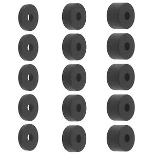 15Pcs M8 Reduce Vibration Spacer Assorted Kit for TV Bracket Raising Damping