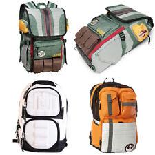 Star Wars Backpacks Boba Fett White Solider Orange Rebels School Shoulder Bags