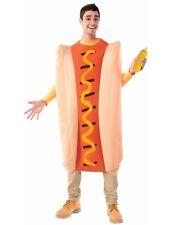 Oscar Mayer Hot Dog Adult Food Mascot Halloween Costume Mens- Std