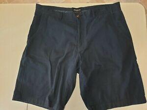 Reserve Mens dark Blue Cotton Shorts W36