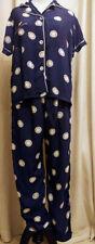 Rare true vintage 1940s Sears Jamarettes Ladies Pajamas Royal Blue.