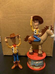 Disney Toy Story 2 Woody Bullseye 1999 McDonalds  candy dispenser Plus WOODY