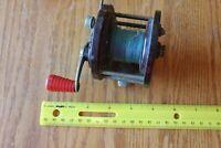 Penn Reel No 79 Vintage Red handle bakelite salt water fishing reel