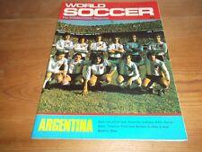 Football Magazine World Soccer September 1977 Osvaldo Piazza Levski Spartak Iran