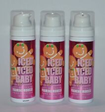 3 BATH & BODY WORKS ICED ICED BABY GINGERBREAD FOAMING MOUSSE HAND SANITIZER LOT