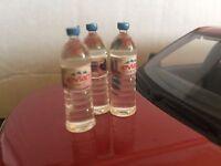 1:18 Diorama Garage Branded Drinks Bottles Water Bottles Set 1/18