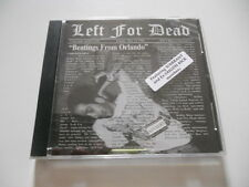 "Left for dead ""Beatings from Orlando"" indie cd 1995 Dead Rec Warrant Saigon Kick"