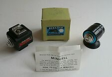 2 x VINTAGE - MINICELL SLAVE UNIT - REMOTE CONTROL FOR ELECTRONIC FLASH