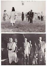 Night of the Living Dead George A. Romero Lot de 10 photos Vintage 1968