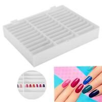 Nail Art Container Empty Nail Tips Showing Storage Box Nail Display Case Book HL