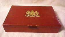 "Vintage Phillip Morris & CO.Cigar Box Veni Vidi Vici Smith Crafted 11.5x6.5x2.5"""