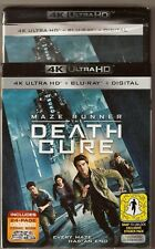 Maze Runner The Death Cure 4K Ultra HD + Blu-ray + Digital BRAND NEW with Slip