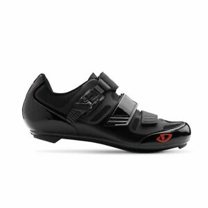 GIRO Apeckx II HV Microfiber Bicycle Cycling Shoes Black & Red USA Size 13 NEW