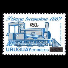 Uruguay 2004 - Steam Locomotive Train (Overprinted) - Sc 2059 MNH
